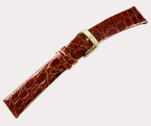 Crocodile clip 1085 Mens – d'brown 20-14 Clasp of gold-plated stainless steel