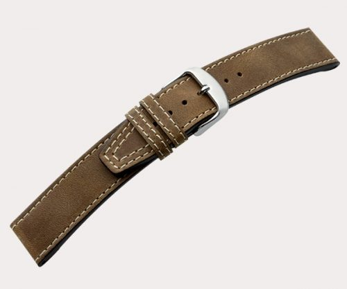 Nevada K.N. 1215 Mens – d'brown 30-26 Clasp of gold-plated stainless steel