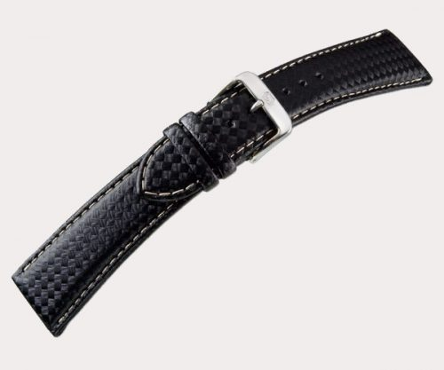 Carbonio Sport 1360 Mens – black 22-18 Clasp of gold-plated stainless steel