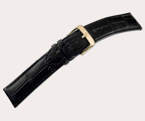 Wellington 1600 Mens – d'brown 24-20 Clasp of gold-plated stainless steel