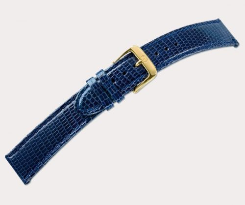 Lizard stitched 1685 Mens – d'brown 20-18 Clasp of gold-plated stainless steel