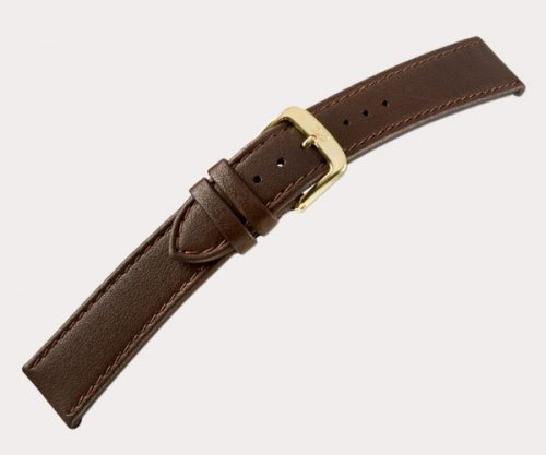 Softina xl 2191 Ladies extra long – d'brown 14-12 Clasp of gold-plated stainless steel