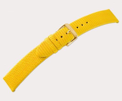 Lizard classic xl 2646 Ladies extra long – d'brown 14-12 Clasp of gold-plated stainless steel