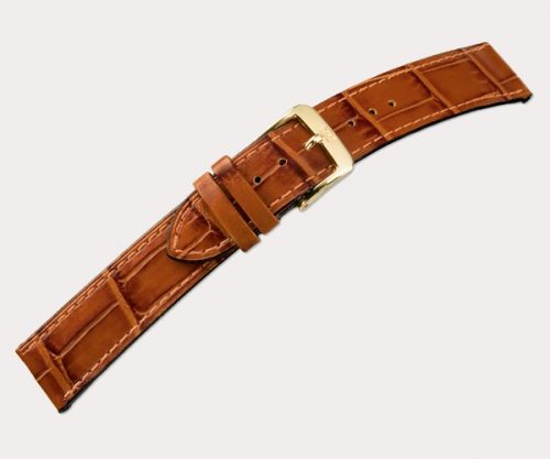 Caracas 2695 Ladies – d'brown 20-16 Clasp of gold-plated stainless steel